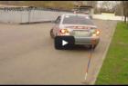 Парковка задним ходом параллельно бордюру.